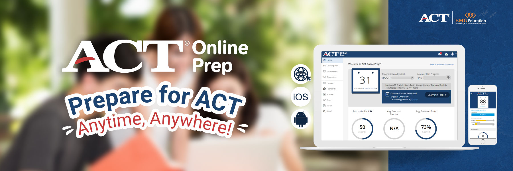 AOP - Prepare for ACT - Anytime, Anywhere