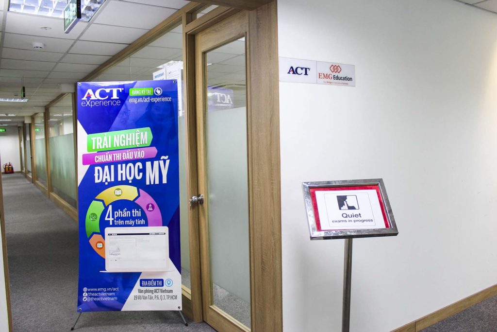 ACT Test Center tại TP.HCM
