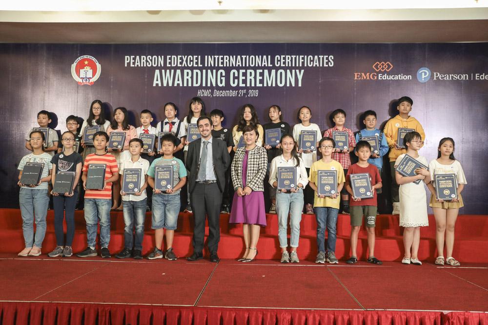 Hình ảnh tại lễ trao giải Edexcel