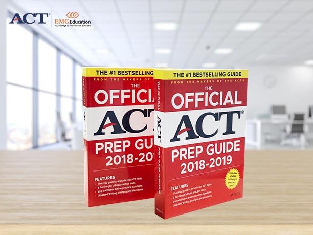 Tài liệu luyện thi ACT độc quyền từ ACT, Inc.