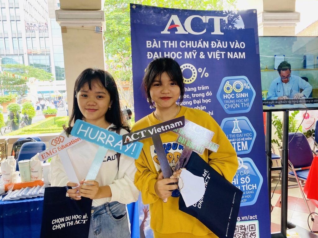 ACT Vietnam Đồng Hành Cùng Kỳ Thi Olympic XXVI Tp.HCM